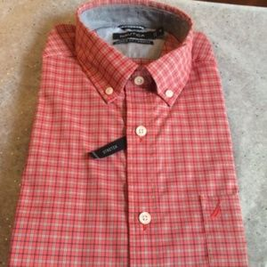 Nautica Classic Fit Stretch Button Down Shirt- NEW
